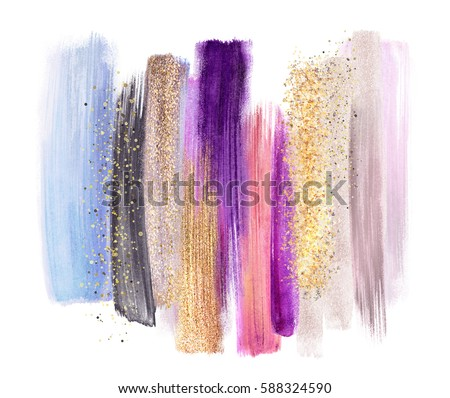 abstract artistic brush strokes, colorful palette, blend, color swatches, grunge art, pastel colors palette, blend, creative background
