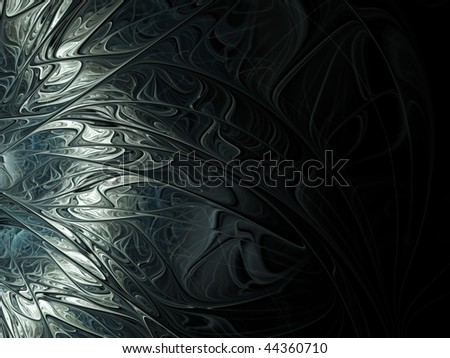 Silver gray abstract illustrations