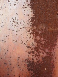 abstract background aged rust steel metal texture of container