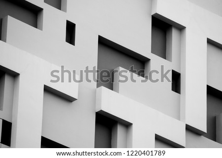 Abstract background architecture lines. modern architecture detail #1220401789