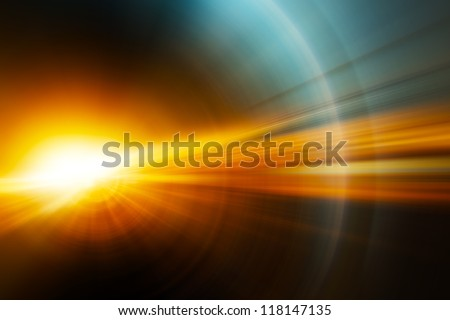 Photo of  Abstract background, Beautiful rays of light.