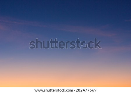 Abstract background beautiful sunrise sky,twilight sky