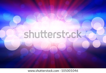 abstract background. blue and red