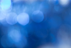 abstract background blue bokeh. texture