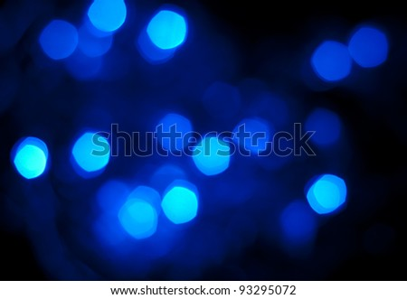 Abstract background - blue sparks on black