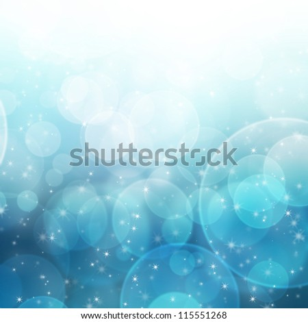 Abstract background bokeh light pattern