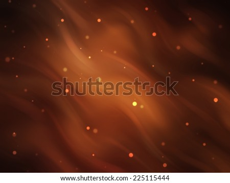 abstract background. brown background with waves and stars