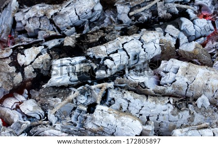 abstract background burning coals. texture #172805897