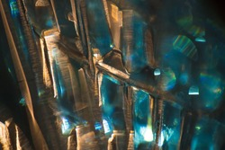 Abstract background. Close up shoot of the shisha glass base.