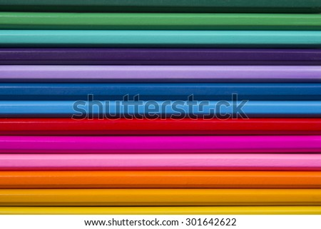 Abstract background, colored pencils, horizontal picture, fine arts, background of colored pencils.