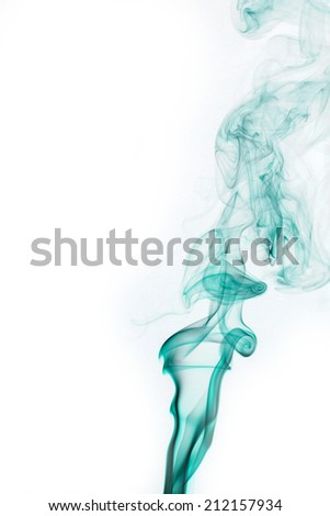 abstract background, colorful smoke of Joss stick #212157934