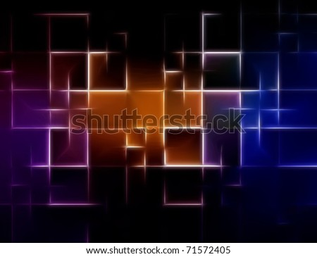 abstract background composition with rectangles shapes