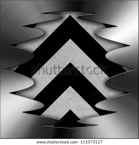 Abstract background, concept of  metal plate