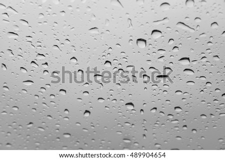 Abstract background, Condensation on the glass surface.,  Black and White  #489904654
