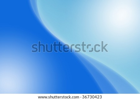 Abstract background curve