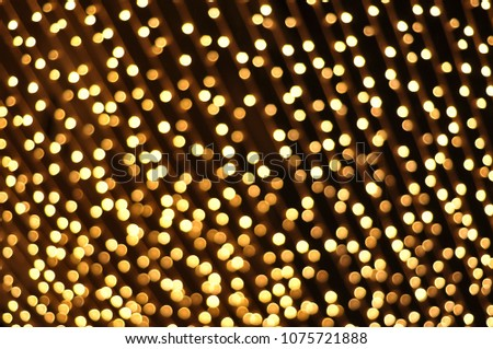 Abstract background, defocused bokeh lights, texture #1075721888