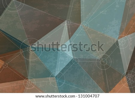 Abstract background for design, retro colors