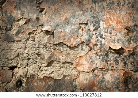 abstract background from an old wall