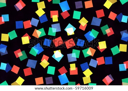 Abstract background from color rectangles