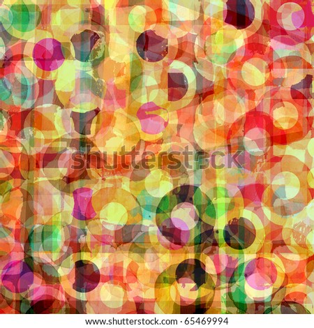 abstract background graphic design circles