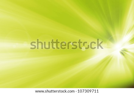 abstract background green yellow