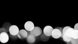 Abstract background image of beautiful multicolored bokeh made by blurry lenses.