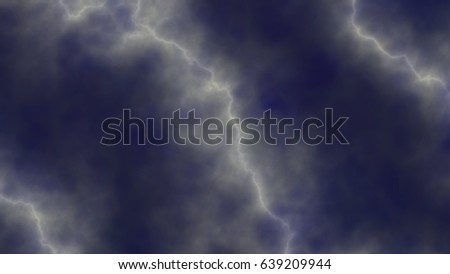 Abstract background in blue tones in sky style  with lightning #639209944
