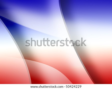 abstract background in French or American colors