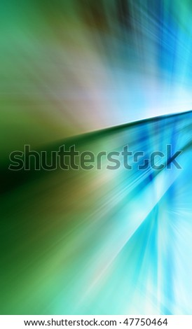 Abstract background in green and blue tones. - stock photo