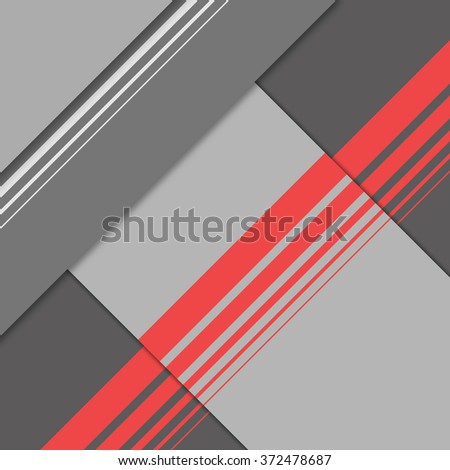 Stock Photo Abstract background in material design