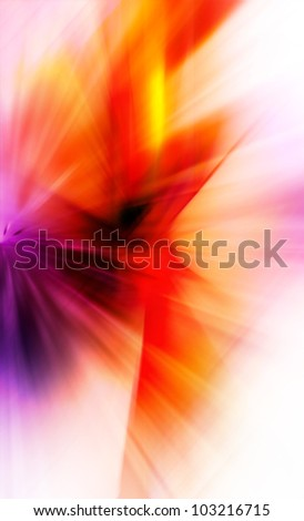 Abstract background in red, orange and purple colors.