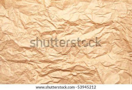 Abstract background in the form of an old dirty paper