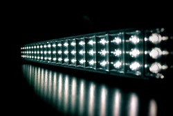 Abstract background,LED light bar