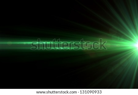Abstract background lighting flare