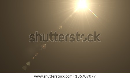 Abstract background lighting flare - stock photo
