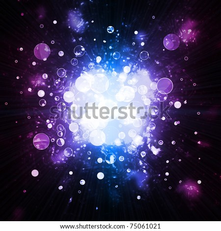 abstract background - lights