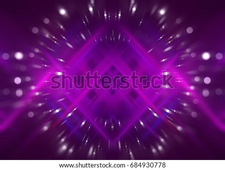 Abstract background lilac bokeh circles. Beautiful illustration.