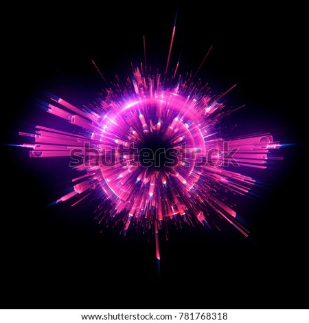 Stock Photo Abstract background. luminous swirling. Elegant glowing circle. Big data cloud. Light ring.Sparking particle. Space tunnel. Colorful ellipse. Glint sphere. Bright border. Magic portal. Energy ball.