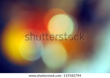 Abstract background, magic lights, bokeh.
