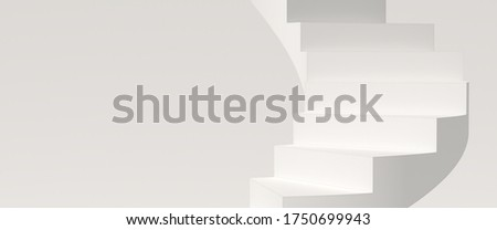 Abstract background, mock up scene geometry shape podium for product display. 3D rendering stock photo