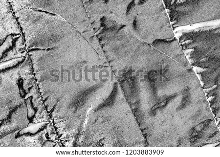 Abstract background. Monochrome texture. Image includes a effect the black and white tones. #1203883909