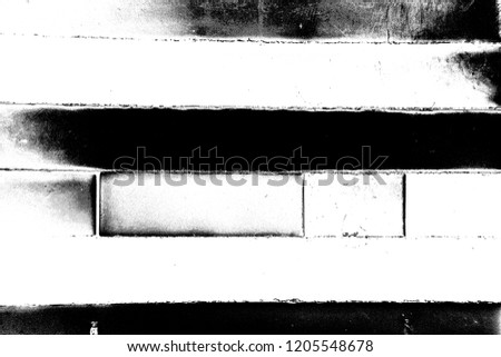Abstract background. Monochrome texture. Image includes a effect the black and white tones. #1205548678
