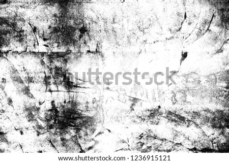 Abstract background. Monochrome texture. Image includes a effect the black and white tones. #1236915121