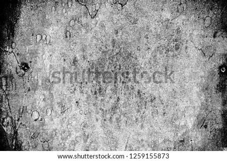 Abstract background. Monochrome texture. Image includes a effect the black and white tones. #1259155873