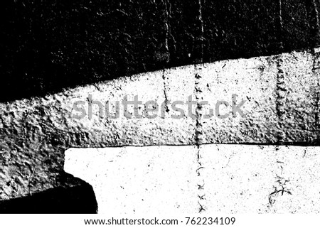 Abstract background. Monochrome texture. Image includes a effect the black and white tones. #762234109