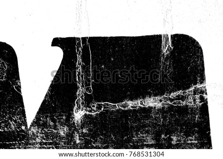 Abstract background. Monochrome texture. Image includes a effect the black and white tones. #768531304