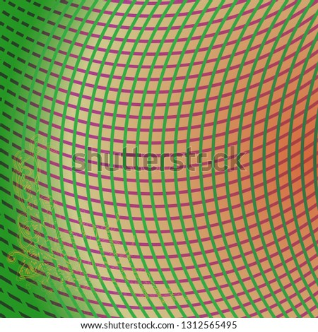 Abstract background multicolored glow striped weave pattern.