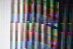Abstract background of a digital glitch./ Digital glitch