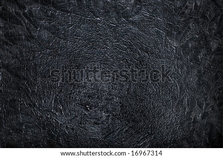 Abstract background of a shiny black wall