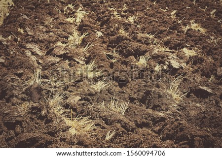Abstract background of an arable land #1560094706